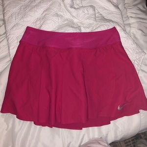 Fuchsia Nike tennis skirt